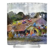 Seaberry Surf The Shops Of Cape Cod Massachusetts Pa Shower Curtain