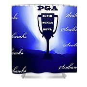 Seahawks Super Bowl Champions Shower Curtain