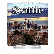 Seattle From Kerry Park Shower Curtain