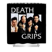 Seinfeldblackflag Shower Curtain