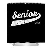 Senior Class Of 2019 Shower Curtain