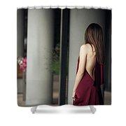 Sensual Lady Shower Curtain