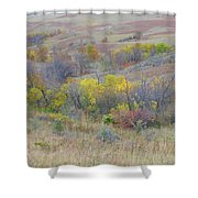 September Perfection On The Western Edge Shower Curtain