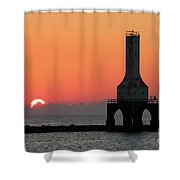 September Sunrise In Port Washington 1 Shower Curtain