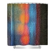 Serendipitous Abstract Shower Curtain
