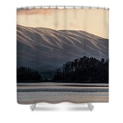 Serenity On The Water Shower Curtain