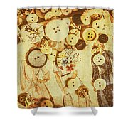 Sewers Guide Shower Curtain