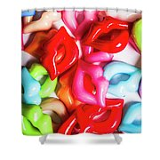Sexy Lips  Shower Curtain
