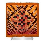 Shaman Tribal Badge Shower Curtain