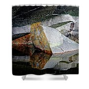 Shawanaga Rock And Reflections I Shower Curtain