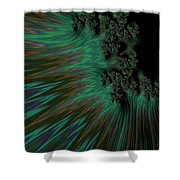 Sherwood Forest. Shower Curtain
