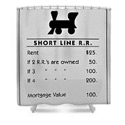 Short Line R.r. Shower Curtain
