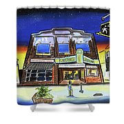 Show Time-acadia Cinema Shower Curtain