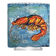 Shrimp Shower Curtain
