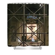 Side Alter Shower Curtain