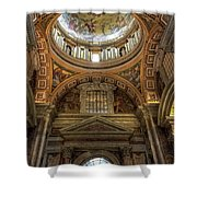 Side Dome Shower Curtain