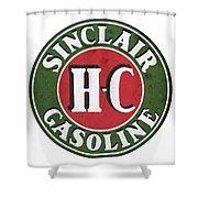 Sinclair Gasoline Shower Curtain