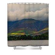 Skiddaw Panorama Shower Curtain