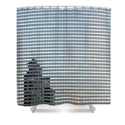 Sky Scrapers Shower Curtain