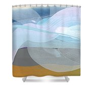 Sleep In Past 8 Shower Curtain