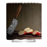 Slice And Dice Shower Curtain