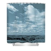 Slope County And Sky Shower Curtain