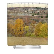 Slope County September Splendor Shower Curtain