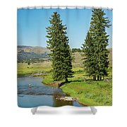 Slough Creek Shower Curtain