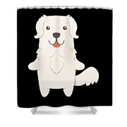Slovak Cuvac Dog Gift Idea Shower Curtain