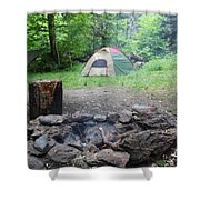 Smoking Tents Shower Curtain