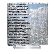Snow Bells Shower Curtain
