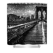 Snow Collection Set 05 Shower Curtain