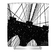 Snow Collection Set 06 Shower Curtain