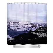 Snow View Shower Curtain
