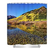 Snowmass Creek Shower Curtain