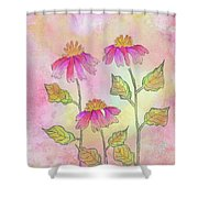 So Pretty In Pink Shower Curtain