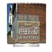 Soft Drink Mural Shower Curtain