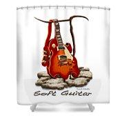 Soft Guitar - 3 Shower Curtain