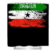 Somaliland Shirt Gift Country Flag Patriotic Travel Africa Light Shower Curtain