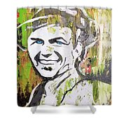 Something In Your Eyes Shower Curtain