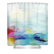 Somewhere Else Shower Curtain