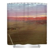 Sossusvlei Namibia Sunset Ridge Shower Curtain