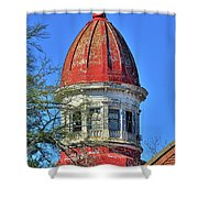 South Carolina State Hospital Dome 3 Shower Curtain by Lisa Wooten