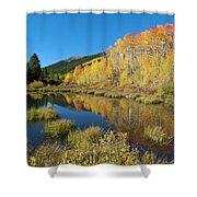 South Elbert Autumn Beauty Shower Curtain by Cascade Colors