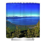 South Lake Tahoe Shower Curtain