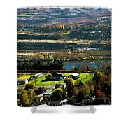 South Wenatchee Fall Shower Curtain