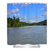 Southern Lake Champlain Shower Curtain