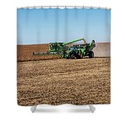 Soybeans Harvest Shower Curtain