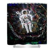 Spaceman Shower Curtain