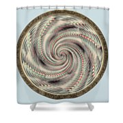 Spinning A Design For Decor And Clothing Shower Curtain